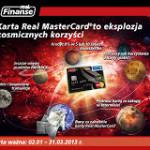 Karta kredytowa Real MasterCard czyli bonusy za 64,5%