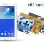 Tablet Samsung w prezencie za założenie karty kredytowej Citibank