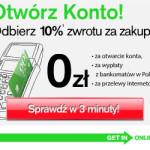 Zgarnij 50 zł i 10% za zrobione zakupy do końca października